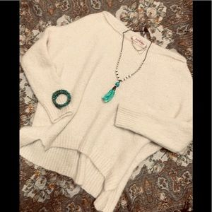 Juicy Couture Creme Mohair blend Sweater XS/S